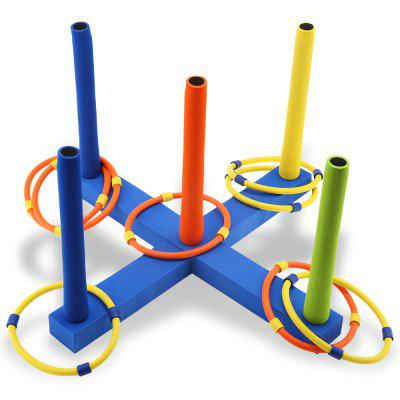 WTWY Kids Outdoor Fun Cast Ring Layer Up Ringtoss Toy