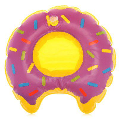 Cute Drink Can Holder Doughnut Shape Bath Toys
