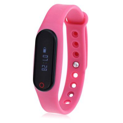 Little Black Heart Rate Smart Bracelet