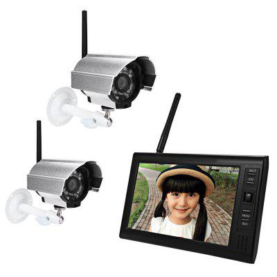 SY602D12 2.4G Wireless IP Camera 7 Inch Screen Monitor