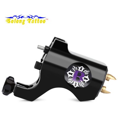 Buy Solong Aluminum Alloy Rotary Tattoo Motor Machine Gun BLACK for $13.31 in GearBest store