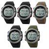 Skmei 1111 Multifunctional Heart Rate Tracking Watch - SILVER