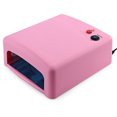 Buy COLORMIX 36W Cure Pink Lamp Dryer UV Gel Nail Tools Full Set for $43.06 in GearBest store