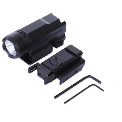 8817 20MM Tactical Red Dot Laser Sight with LED Flashlight