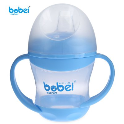 Bobei Elephant 160ml BPA Free Baby Bottle with Handle