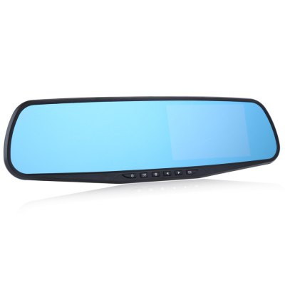 RH - A20 Dual Lens Car Rear-view Mirror DVR Recorder