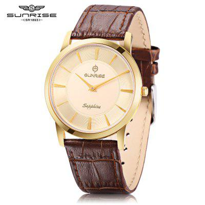 SUNRISE DM769PWA Male Quartz Watch