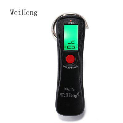 WeiHeng WH - A18L 50kg / 10g Plastic Digital Luggage Scale
