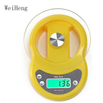 WeiHeng WH - B16L 7kg / 1g Digital LCD Electronic Scale with Count-downFunction