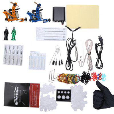 Solong Complete Tattoo Kit Power Supply Machine Guns