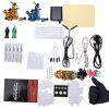 Solong Complete Tattoo Kit Power Supply Machine Guns - BLUE AND YELLOW