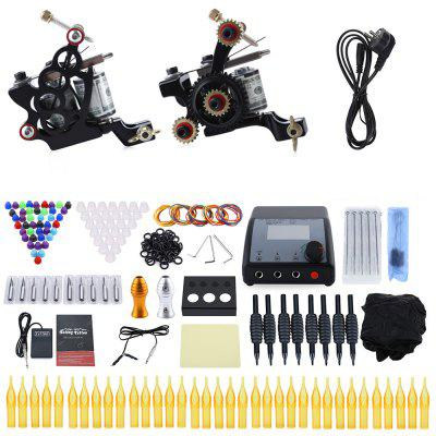 Solong Complete Tattoo Kit 2 Machine Gun Liner Shader