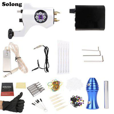 Solong Complete Tattoo Kit Rotary Machine Motor Gun