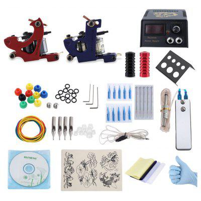 Professional Tattoo Kit 2 Machine Gun Shader Liner