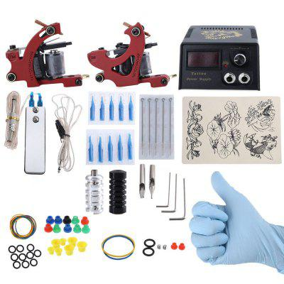 Complete Tattoo Kit 2 Tattoo Machines
