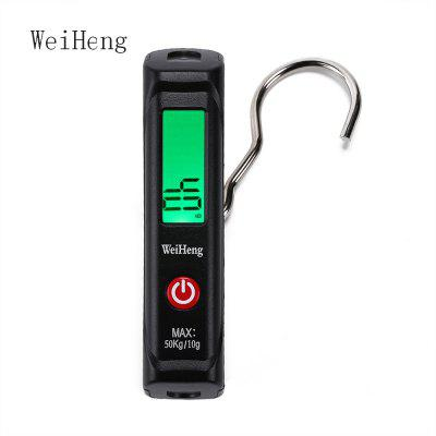 WeiHeng WH - A12L 50kg / 10g Plastic Digital Luggage Scale