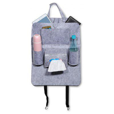 Car Seat Back Storage Bag