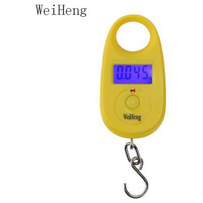 WeiHeng WH-A11 25kg / 5g Portable LCD Electronic Hanging Scale