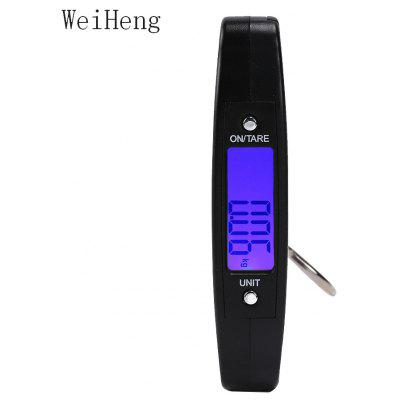 WeiHeng WH - A09L 50kg / 10g LCD Mini Hand Carry Electronic Scale