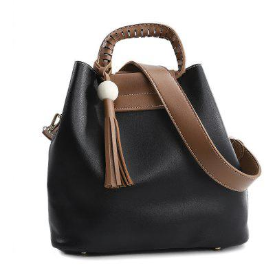 Guapabien Women PU Fashion Casual Solid Bucket Bag