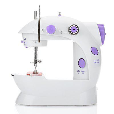 202 Mini Sewing Machine Double Speed Automatic Thread with LightOther Home Improvement<br>202 Mini Sewing Machine Double Speed Automatic Thread with Light<br><br>Material: Plastic, Stainless Steel<br>Package Contents: 1 x Mini Sewing Machine, 1 x Foot Pedal, 1 x Needle-threading Device, 1 x Threading Needle, 2 x Bobbin with Thread, 2 x Bobbin without Thread, 1 x Adapter, 1 x English User Manual<br>Package Size(L x W x H): 22.50 x 13.50 x 21.00 cm / 8.86 x 5.31 x 8.27 inches<br>Package weight: 0.9690 kg<br>Product Size(L x W x H): 17.00 x 9.50 x 18.00 cm / 6.69 x 3.74 x 7.09 inches<br>Product weight: 0.6570 kg<br>Use: Sewing Machine