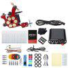 Solong Tattoo Kit 10 Wrap Coils Shader Machine Gun