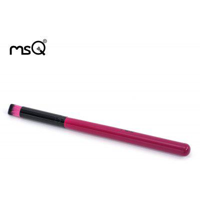 MSQ Professional Purple Oblique Angle Shadow Brush Portable Makeup Tool