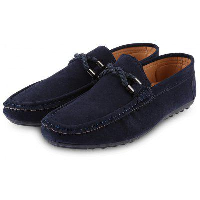 Fashion Men Driving Shoes Moccasins Suede Leather Casual Footwear caltus boys casual shoes soft footwear classic men oxfords genuine leather shoes flats fashion high quality aa20521