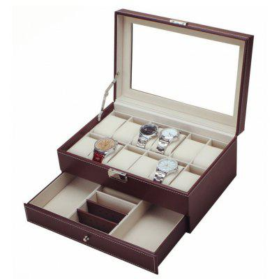 Multifunctional PU Watch Display Box