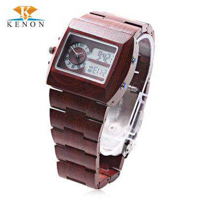 K KENON Male Dual Movt Watch