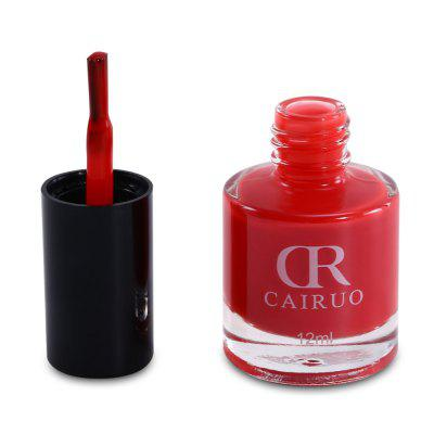 CR 12ml Nail PolishNail Gel &amp; Polish<br>CR 12ml Nail Polish<br><br>Net Weight: 12ml<br>Package Content: 1 x Nail Polish<br>Package Size(L x W x H): 14.00 x 9.00 x 4.50 cm / 5.51 x 3.54 x 1.77 inches<br>Package weight: 0.0490 kg<br>Product Size(L x W x H): 6.00 x 2.70 x 2.70 cm / 2.36 x 1.06 x 1.06 inches<br>Product weight: 0.0370 kg<br>Type: Top Coat