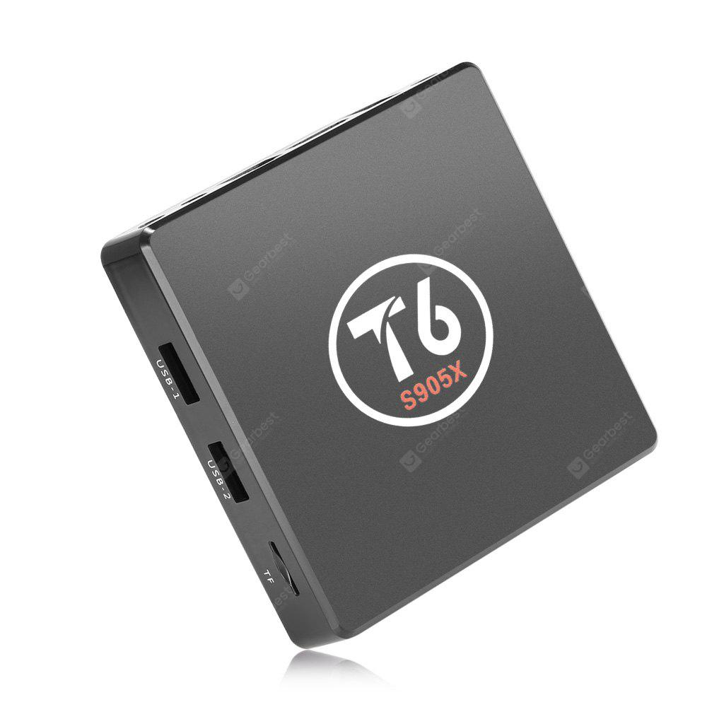 T6 S905X TV Box 2.4GHz