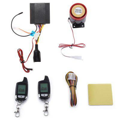 NT - MS002 Two Way LCD Motorcycle Alarm System