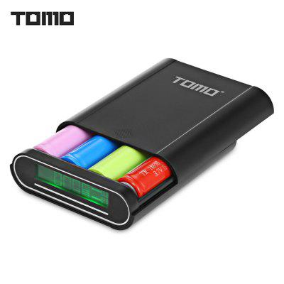 TOMO T4 4 x 18650 Li-ion Battery DIY Smart Power Charger