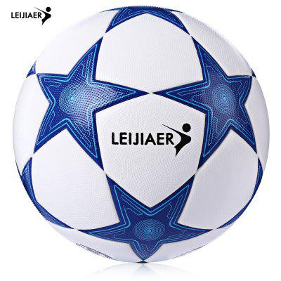 LEIJIAER Size 5 Star TPU Competition Football