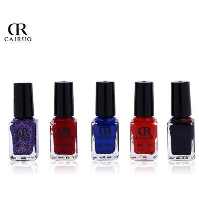 CR 5pcs Environmental Non-toxic Nail Polish Set
