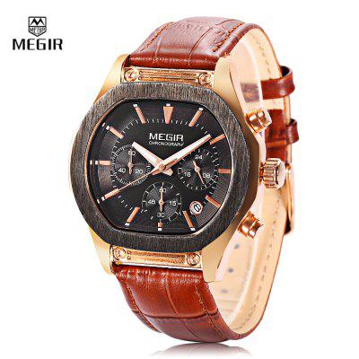 MEGIR M3014G Men Quartz Wristwatch
