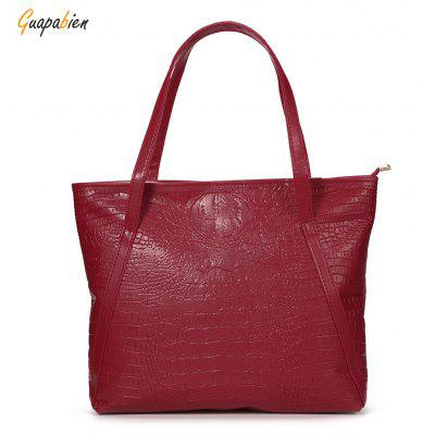 Guapabien Women Brief Pocket Shopper Bag