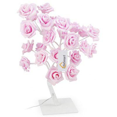 iLifeSmart Rose Tree Table Light with Adjustable Branches