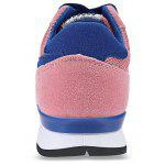 Casual Star Pattern Print Color Block Sports Shoes for Women - PINK