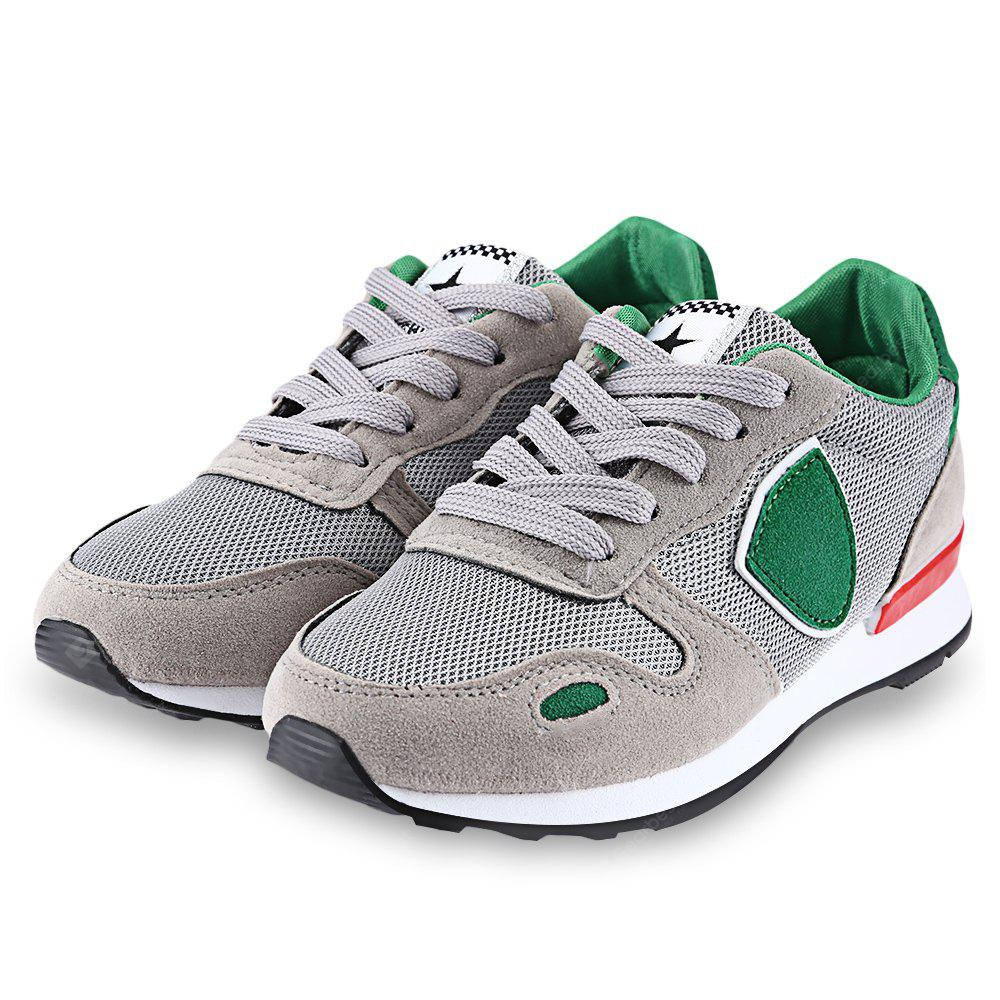 Casual Color Block Height Increasing Cushion Running Shoes for Women