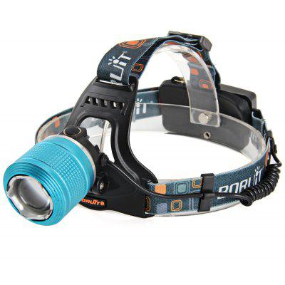 Boruit RJ  -  2800 Cree XML  -  T6 1000LM 3 Modes Zoomable 18650 LED Headlight