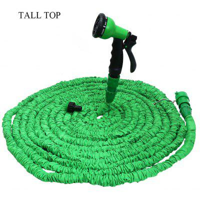TALL TOP Expandable Garden Hose Water Pipe with 8 Modes Spray Gun