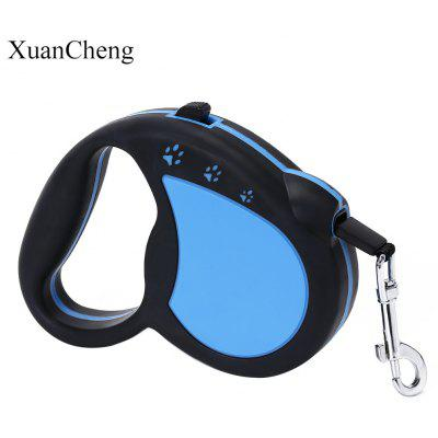 XuanCheng 3m Non-slip Retractable Pet Dog Cat Leash Lead for Training Running Walking