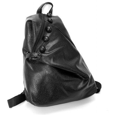 Fashionable Leisure PU Leather Backpack for Women