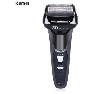 Kemei KM - 8150 Rechargeable Cordless Electric Razor for Men