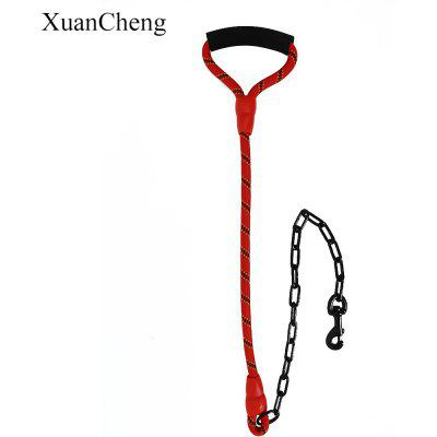 XuanCheng Heavy Duty Chain Dog Leash for Large Dog