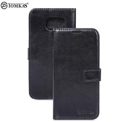 Tomkas Crazy Horse Series Case for Samsung Galaxy S7 Edge