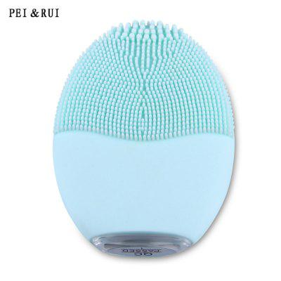 PEI&RUI Vibrating Silicone Skin Care Facial Cleaner Beauty Tool