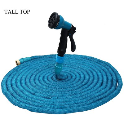TALL TOP Expandable Garden Magic Hose Water Pipe with 8 Modes Spray Gun